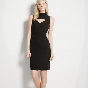 Ann Taylor Dresses - Kate Hudson for Ann Taylor NWT Leather Trim Dress